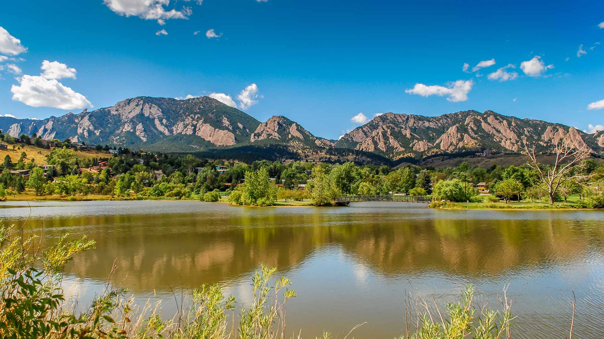 0012 Viele Lake w Flatirons 3 E 1920 - Enhancements