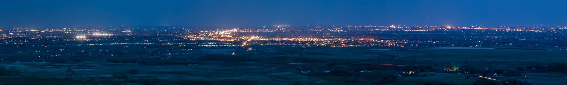 0824 Longmont Plains NS Panorama0 Edit E 1920 - Evening Photos