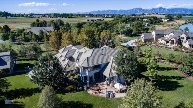 Lafayette Colorado Aerial Photograph