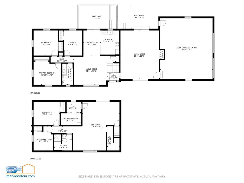 1712 2 FP Merged scaled - Floor Plan